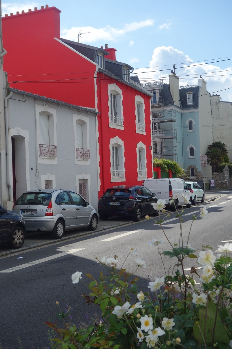 les rues colorées de Brest
